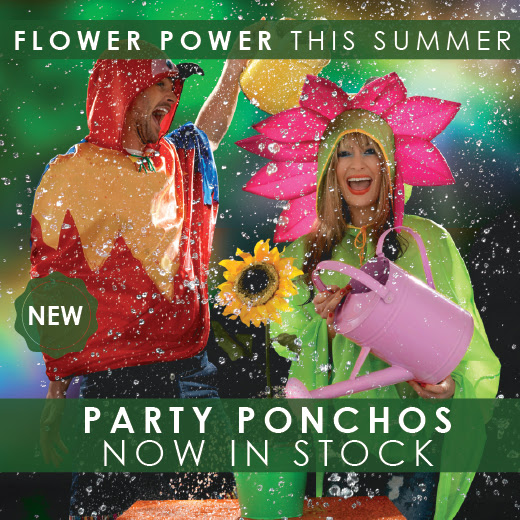 At 163 9 99 and the party poncho themes include giraffe cow flower