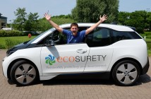 a member of ecosurty staff with the vehicle ( this is not James Piper)