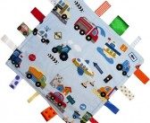 Dotty Fish Tag Blanket – Vehicles