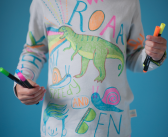 Encourage kids creativity with Lala & Bea's   Design Your Own Pyjamas