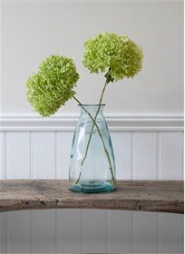 Wells Large Flower Vase – Recycled Glass