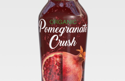 Pomegranate that packs a punch: The new organic drink offering by all-natural health brand Secret Gardens