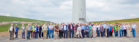 First UK wind farm transfers from commercial to community ownership
