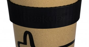 Reusable and plastic free, Huskup brings  takeaway coffee back down to earth