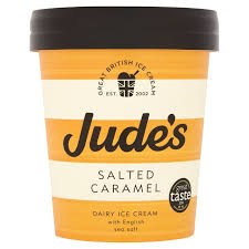 Made in the UK – Jude's Salted Caramel Ice Cream 500ml