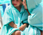 Keep Little ones safe in the sun with Cuddlrey's SPF 50+ Poncho Towels