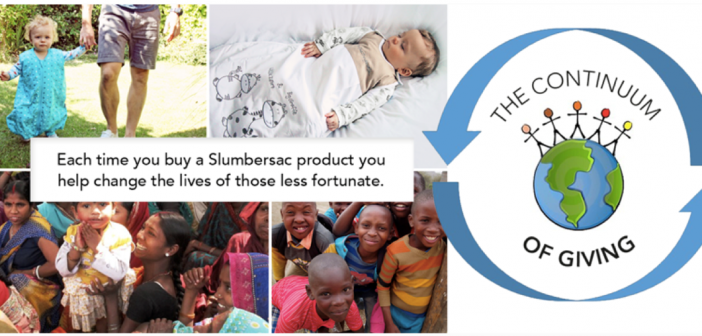 Slumbersac's Buy1Give1 campaign aims to give 1 million mothers and babies a safer start in life
