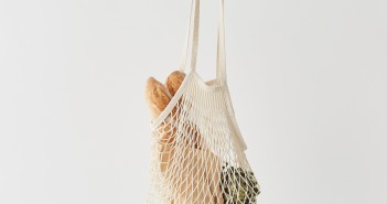 French Net Market Bag – Long Handle