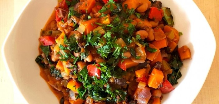 Veganuary – Chipotle Kale Bean Stew