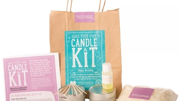 Veganuary Day 13 – Make Your Own Candle Kit – Happy Birthday