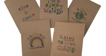 New recycled notebook collection from The Kindness Co-op